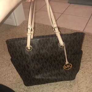 Michael kors Brown Logo tote purse